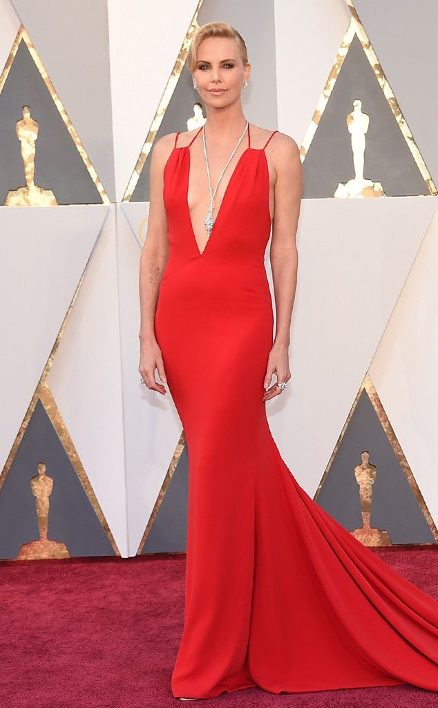 Charlize Theron from Oscars 2016: Best Dressed Stars  The Mad Max star proves simple elegance can be everything when it comes to the red carpet.