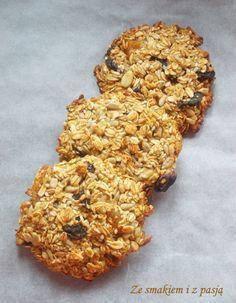 Ze smakiem i z pasją: Zdrowe ciasteczka owsiane z ziarnami i suszonymi owocami