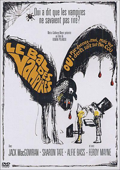 """[8] Les procédés de la Hammer finissent par prêter à sourire. """"Le bal des vampires"""" (1967), de Roman Polanski, est une parodie de ces films."""