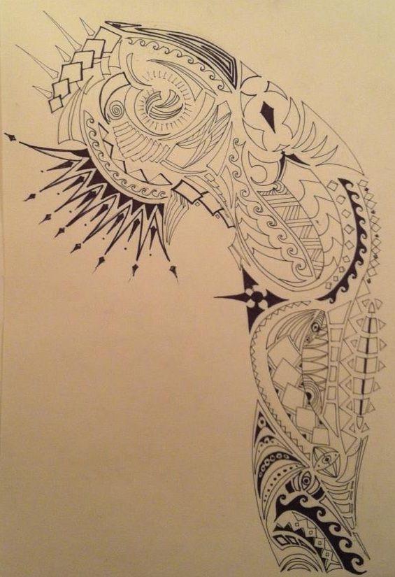 tribal half sleeve my tattoo designs pinterest. Black Bedroom Furniture Sets. Home Design Ideas