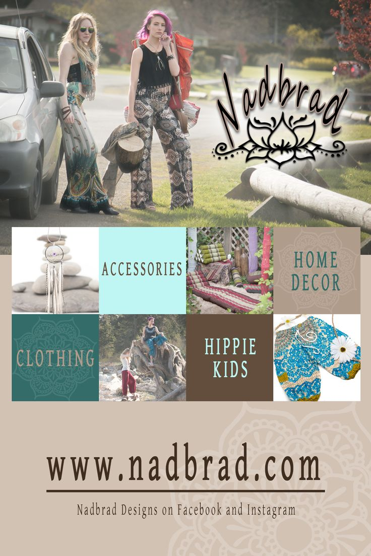 Have you heard about Nadbrad yet? If not then You're Welcome! They are a little boho stall and website and they are secretly giving away $50 of free merchandise or services.  Use my link to enter...you need to check this out, their stuff is awesome!