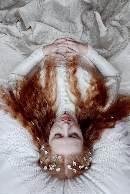 Romantic fairy story, the sleeping beauty.