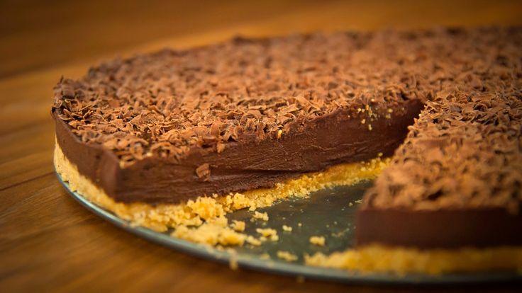 Шоколадный Торт Эспрессо Без Выпечки