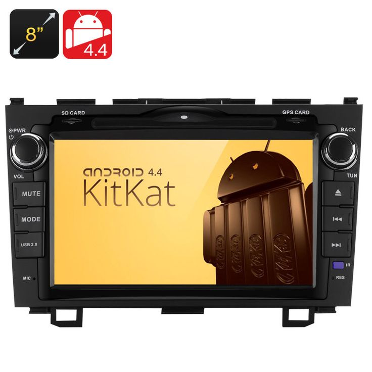 8 Inch 2 DIN Android 4.4 Car DVD Player for Honda CRV 2008-2012 Models Only #UnbrandedGeneric