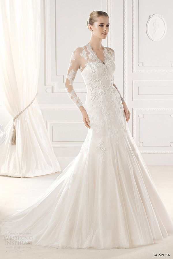 La Sposa 2015 Wedding Dresses — Glamour Bridal Collection | Wedding Inspirasi