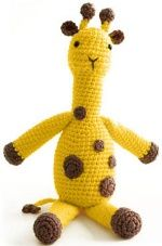 This lanky lady will be very popular with any fan of spotted, long legged creatures.   {free crochet pattern here}
