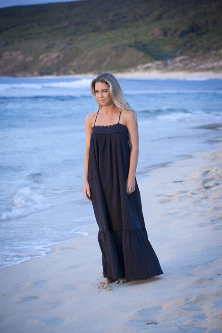 Island Dress in Indigo with Crossover back    $49  sizes 10,12  (rrp $155)