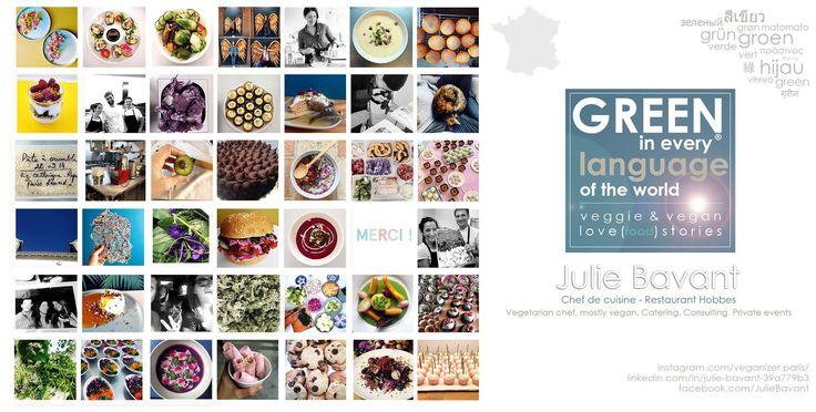 GREEN370 - Julie Bavant Paris, France - Chef de cuisine chez Restaurant Hobbes - Vegetarian chef, mostly vegan, Catering. Consulting. Private events#paris #parisvegetarian #parischef #parisvegan #vegan #vegetarian #france #francevegan #francevegetalienne #celebritychef #cookbook #cookbookaddict #cookbookcomingsoon #green370 #rawfood #veganizer #uky #amsterdam #amsterdamchefs #francechef