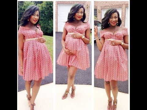 Top 20 Ankara Styles For Pregnant Mom | P style in 2019 ...