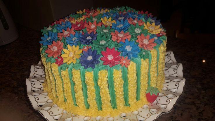 Kendra's 9th birthday party cake
