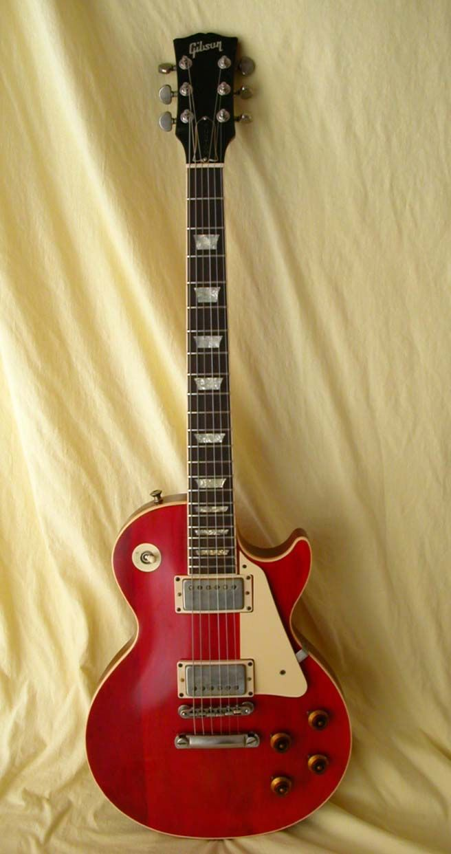"George Harrison's ""Lucy"" ('57 Les Paul) - named ..."