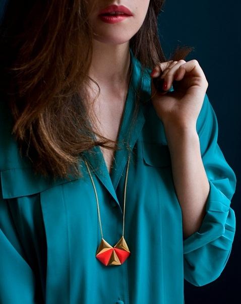 sautoir / necklace Ellen  collection anne thomas