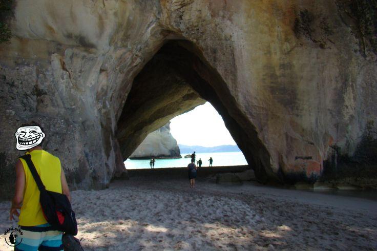 Neuseeland - Traumstrand - berühmt aus Narnia