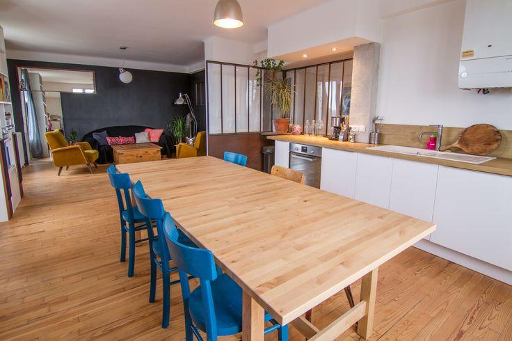 Plombier sur Biarritz Intégration d'une verrière à une cuisine