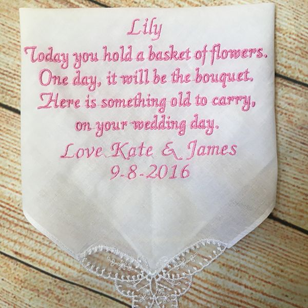 Gift ideas for your flower girl or ring bearer