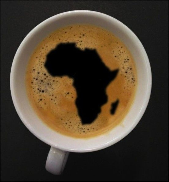 Start your day with fair trade coffee from Africa.
