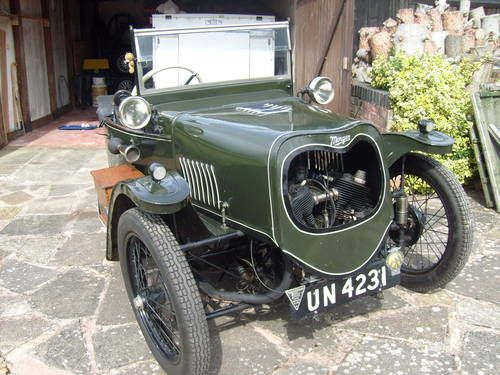Morgan 3 wheeler with Brough engine 1930