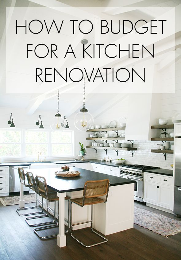 How Much Does It Cost To Renovate A Kitchen Kitchen Renovation
