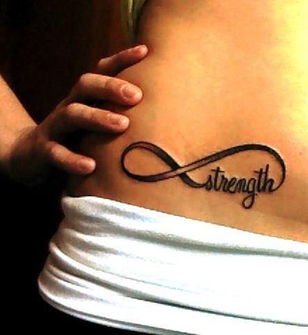 strength forever tattoo