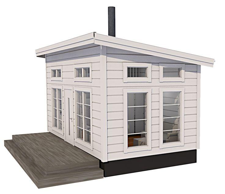 Modellerna med loft är maximerade gällande in och utvändiga mått, noterbart är den takhöjd som erbjuds både under och på loftet. Timmer eller blocklösning.