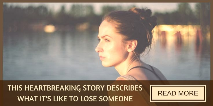 What it's like to lose someone after your relationship has ended.