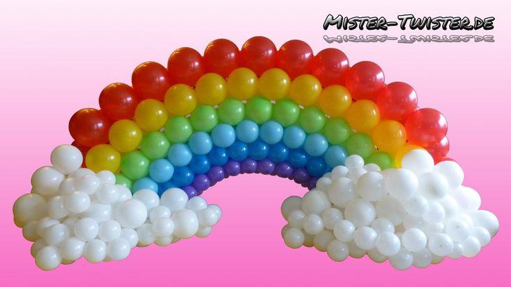 Best 25 rainbow decorations ideas on pinterest rainbow for How to make a rainbow arch