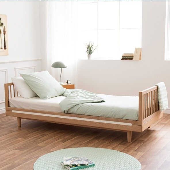 Pure Single Bed 90 X 200 Cm Nobodinoz Mylittleroom Kinderkamer Sofa S Logeerkamer