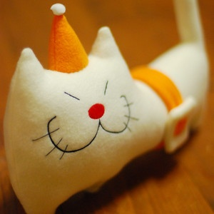 Coco Cat Plushy, $26, now featured on Fab.