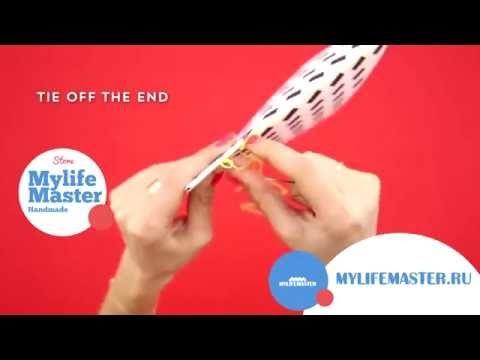 DIY: Как сделать блокнот своими руками. Mylifemaster.ru - YouTube