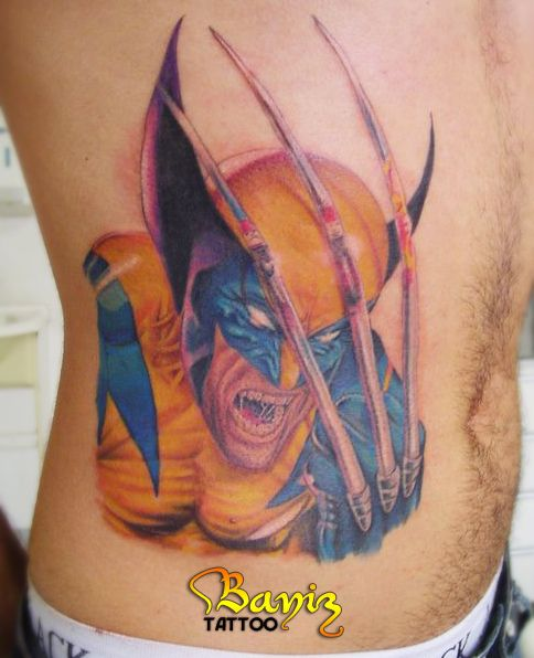 wolverine tattoos | Wolverine Tattoo | Flickr - Photo Sharing!