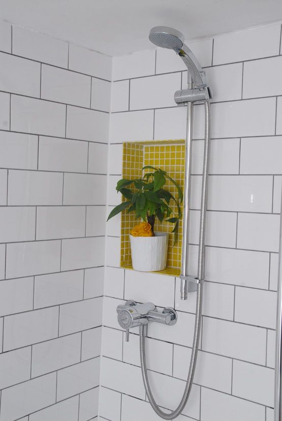 White Tile Bathroom Gray Grout 133 best bathrooms images on pinterest | bathrooms, bathroom ideas