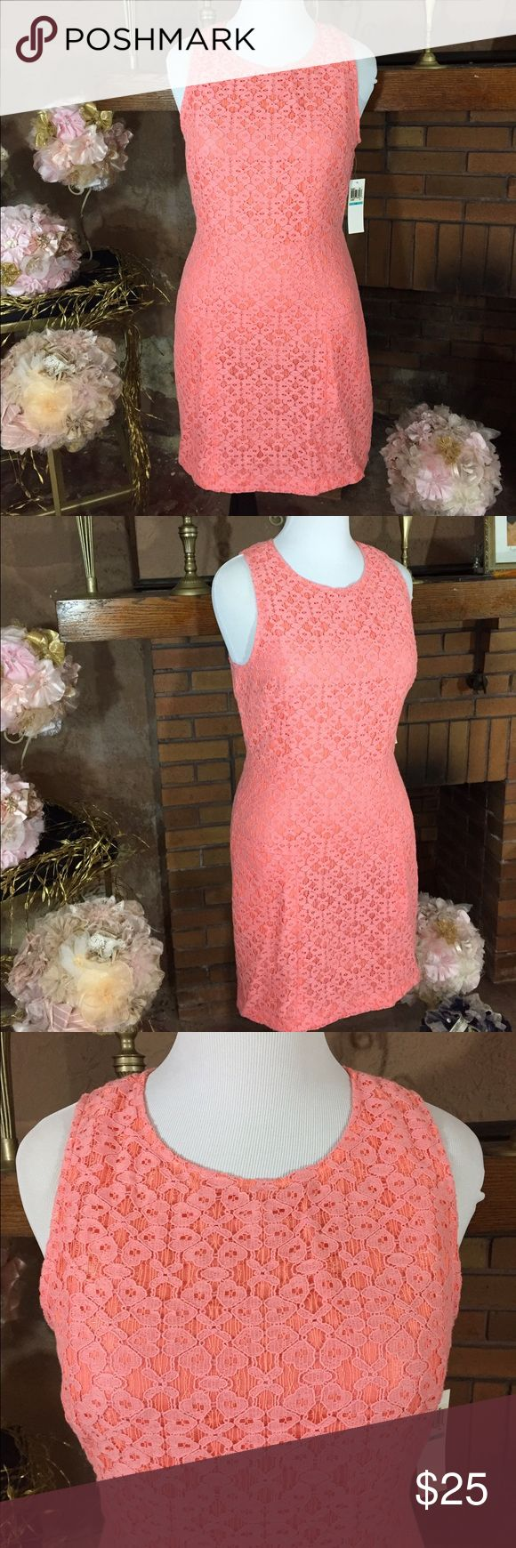 Blu-39 ciral lace dress size 16 Blu-39 coral lace dress size 16. No stretch. 40 in bust, 34in waist and 42 in hip. 27 in long from under the arm. New with tags. Please check out all pictures for best description of the items. Ask me any questions and happy shopping! Blu-39 Dresses Midi