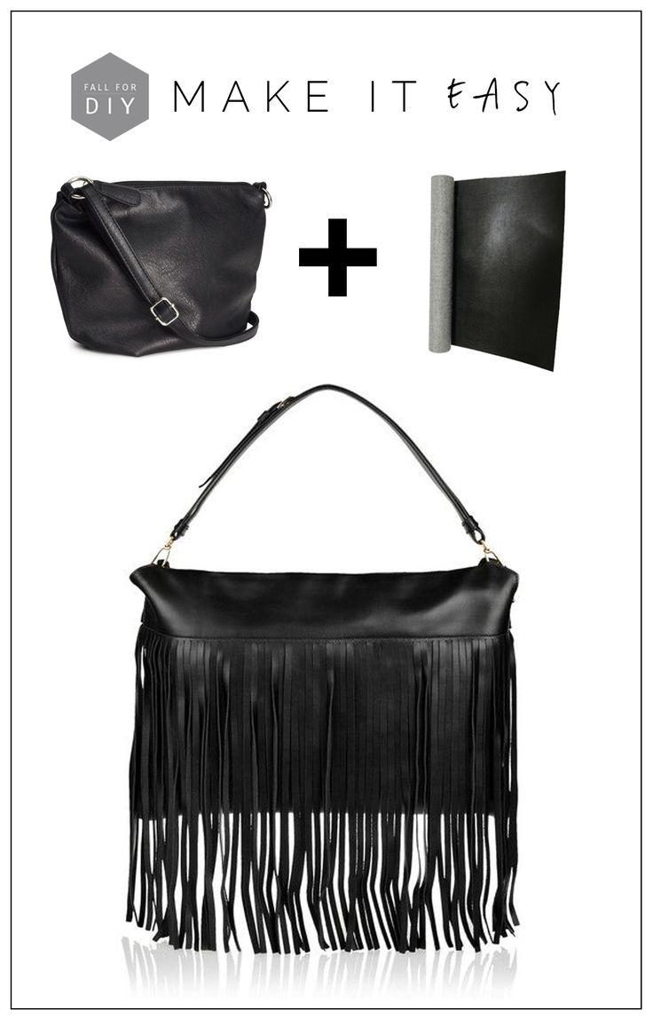 Miu Miu Black Fringe Bag