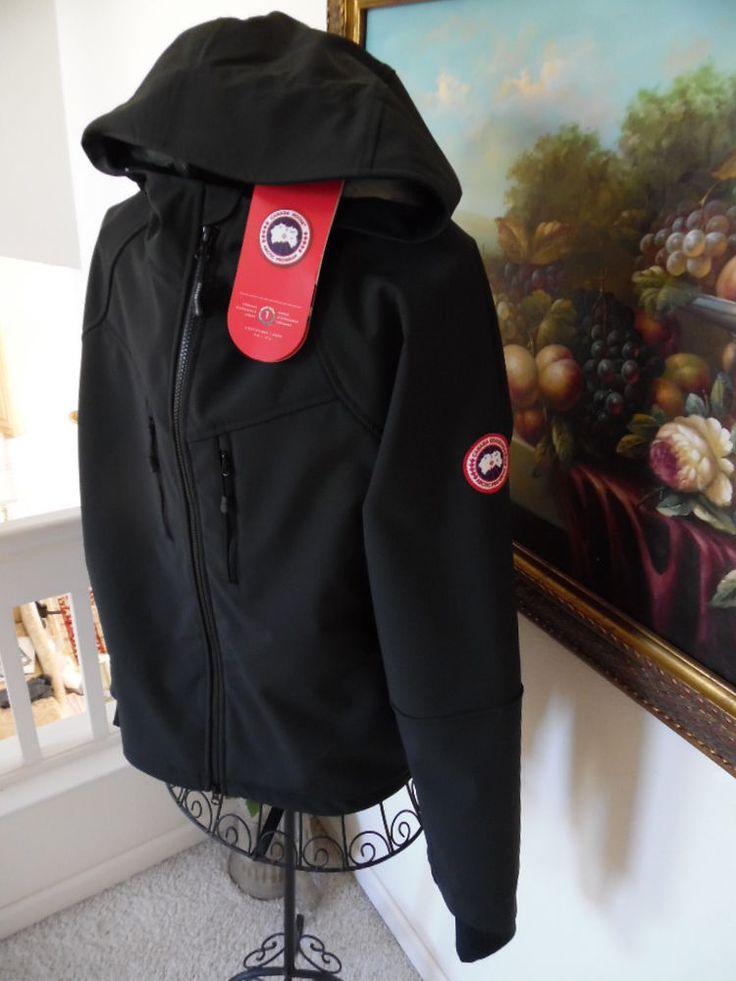 canada goose trenton jacket black