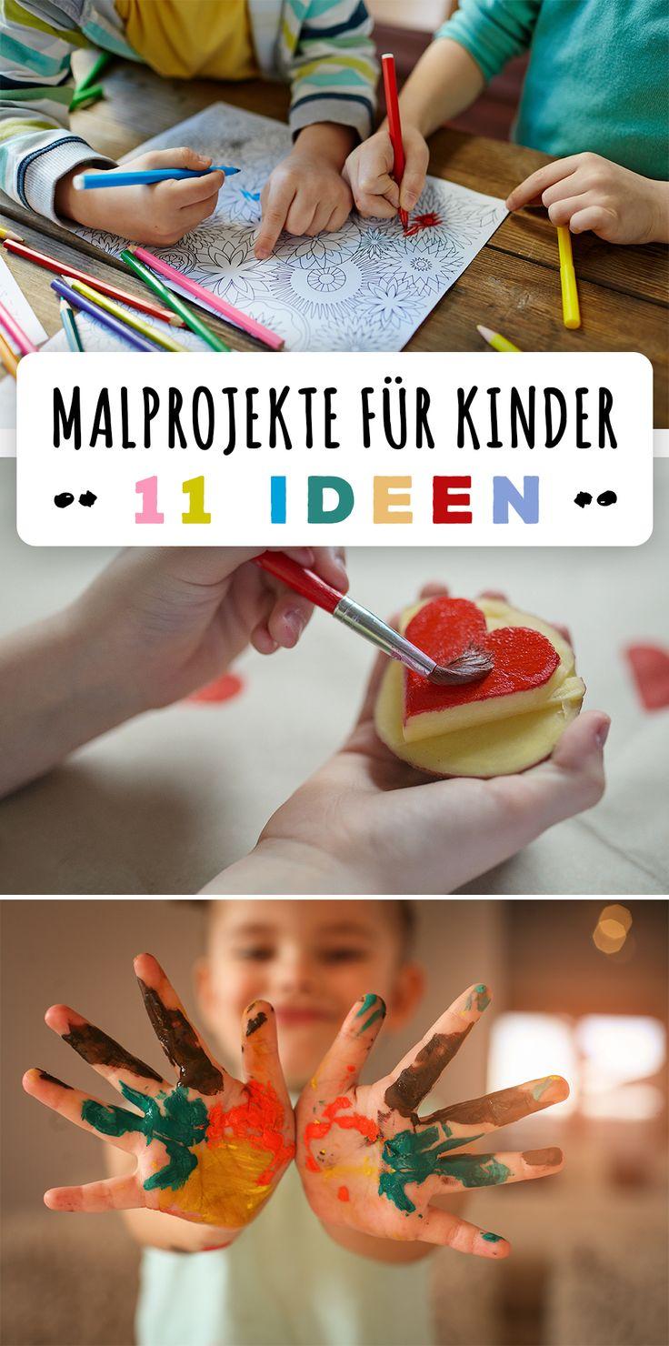 Malen F�r Kinder: 11 Ideen