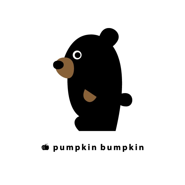 Bear, pumpkin bumpkin #illustration #painting #drawing #art #design
