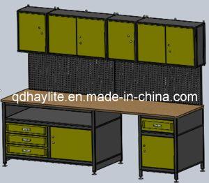 Établi de Module de garage de mémoire d'outil d'Orgnization de mur