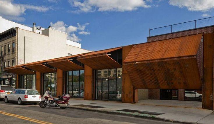 Cool Industrial Look Facade Day Facade Shop Design