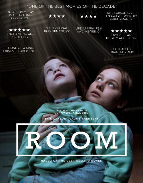 "Room - Lenny Abrahamson 2015 -- ""After five-year old Jack and his Mom escape from the enclosed environment that Jack has known his entire life, the boy makes a miraculous discovery: the outside world."""