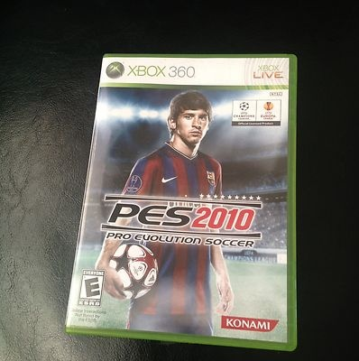 Pro Evolution Soccer 2010 Xbox 360 2009 083717300816 | eBay