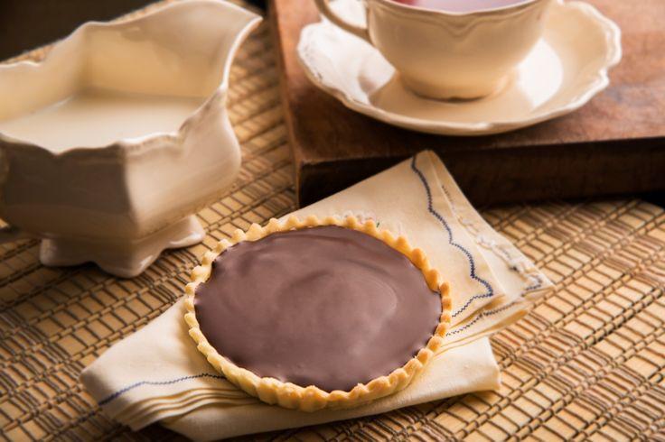 Tarteletas de dulce de leche y ganache de chocolate - Maru Botana