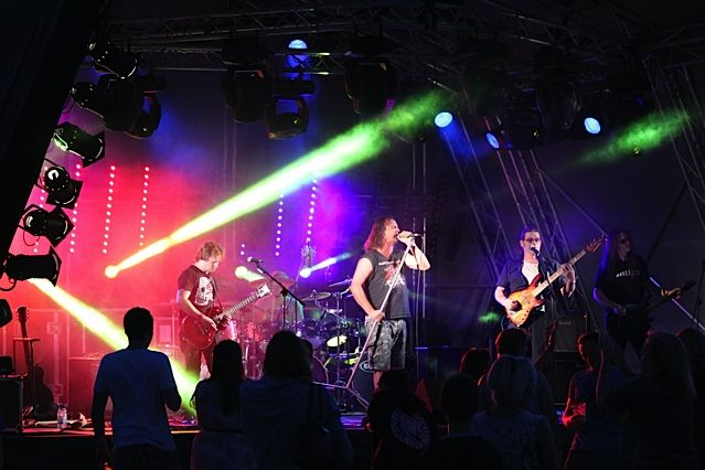 Festival lighting • hire equipment & engineers for your event