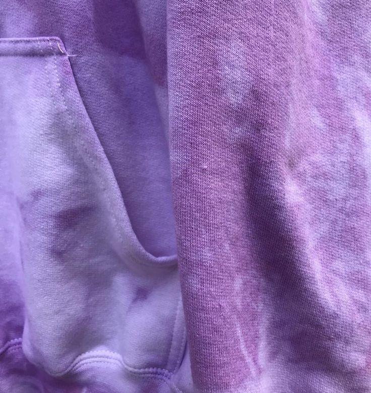 Crushed berries tie dyed hoodie split color hoodie unisex