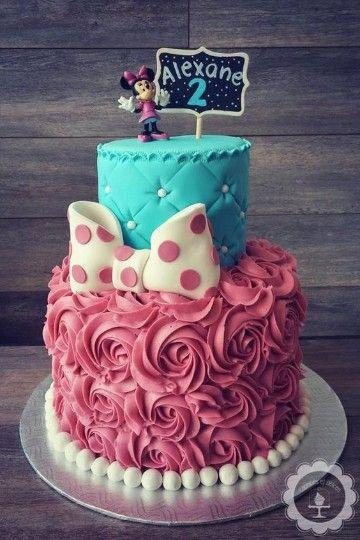 tortas decoradas de minnie mouse