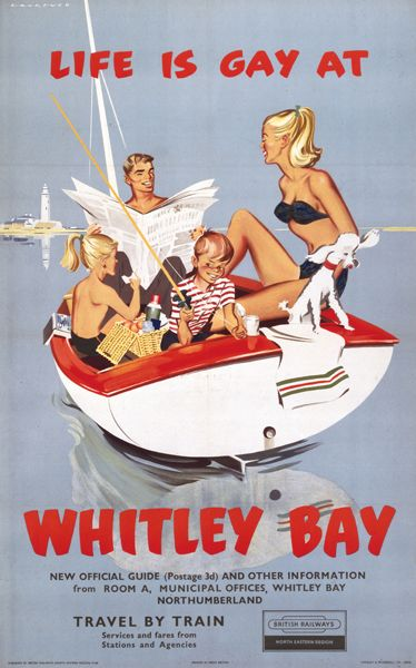 Whitley Bay. So vintage that gay actually meant just fun!