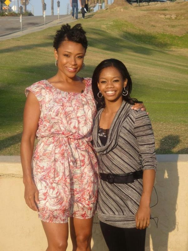 Amazing. Two History Makers.Olympics Gold, African American, Olympics Gymnastics, Gabby Douglas, Gold Medal, Gabrielle Douglas, Dominique Dawe, Black History, Black Women