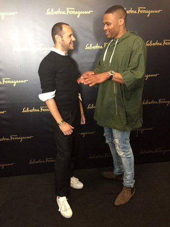 N.B.A. Superstar Russell Westbrook Reports From the Men's Shows: Day 1 | Vanity Fair