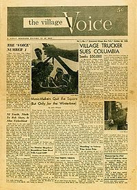 The Village Voice 1955 cover- Wikipedia, the free encyclopedia