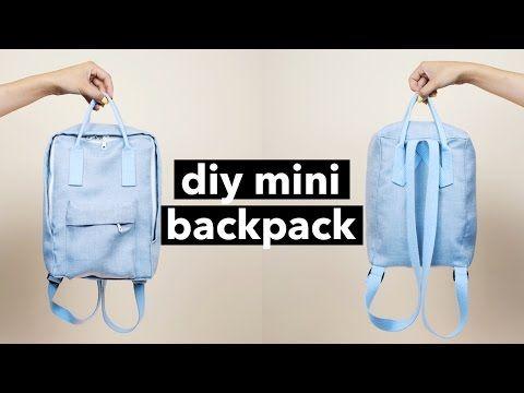 DIY: Mini Backpack (Fjällräven Kånken style) — iamwithwendy