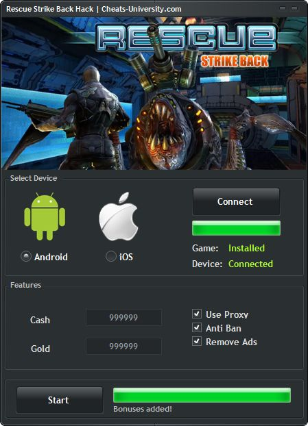 Rescue Strike Back Hack – Android iOS Cheats  http://cheats-university.com/rescue-strike-back-hack/